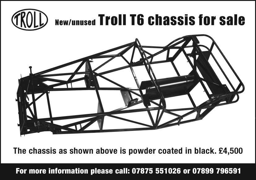 Troll T6 chassis for sale